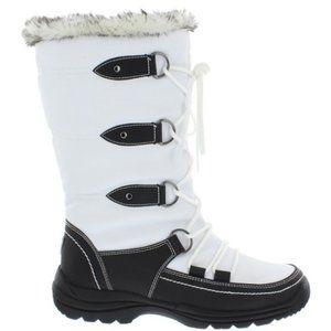 Sporto Tessa Faux Fur Lace-Up Boot